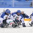Sledge hockey, Corvino gol alle Paralimpiade: ora Italia -Corea per il bronzo