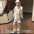 """Coronavirus - Covid 19: Croce Verde di Pinerolo e Bricherasio impegnata nel trasferimento dei """"positivi"""" di Alassio"""