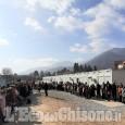 A Cumiana una cerimonia per inaugurare il villaggio scolastico