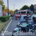 Borgaretto: scontro tra ragazzini in sella alle loro bici, 13enne in ospedale