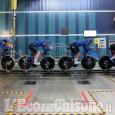 Azzurri del ciclismo su pista: prove alla Galleria del Vento di Orbassano
