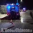 Macello: fiamme in una lavanderia industriale, l'intervento dei Vigili del fuoco