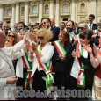 Sindaci pinerolesi dal Papa: le immagini della giornata