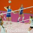 Volley serie A2 donne, Pinerolo non lascia scampo alle pugliesi e torna a vincere