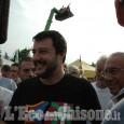 Giaveno, Salvini blindato alla Sangon Fest della Lega Nord
