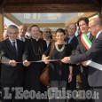 Barge, inaugurata area verde e posa prima pietra all'Itt con Vescovo e presidente Chiamparino
