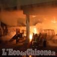 Pomaretto: incendio nella notte a un capannone in borgata Pons
