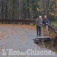 Prarostino: strada Provinciale chiusa, si pensa di creare un passaggio provvisorio