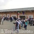 Il presidente del Consiglio arrivato a Bagnolo Piemonte