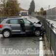 Pinerolo: scontro frontale in via Saluzzo, due donne ferite