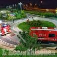 """Nichelino: fiamme sul tetto dello shopping park """"I Viali"""""""