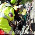 Cade durante un'arrampicata in Valle Gesso, ferita 35enne di Saluzzo