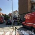 Orbassano: fiamme in un appartamento di strada Volvera, Vigili del fuoco in azione