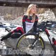 Elena Novikova ambasciatrice del ciclismo per il Consorzio Turistico Via Lattea