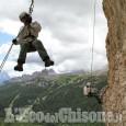 Alpini della Berardi di Pinerolo in esercitazione internazionale alle 5 Torri