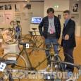 """Faustino Coppi alla mostra """"Pinerolo Città del Ciclismo"""""""