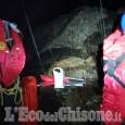 Bobbio Pellice: un volo di venti metri, salvato dal Soccorso Alpino