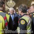 Gli uomini del Soccorso Alpino ricevuti dal Presidente Mattarella