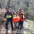 Paesana: trovato nel greto di un torrente il corpo del pensionato scomparso venerdì