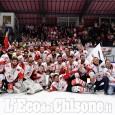 """Hockey ghiaccio, festa al """"Cotta"""" per i campioni (VIDEO), prima dell'Under 19"""