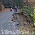 Prarostino: la frana sulla strada Provinciale inserita tra le opere urgenti