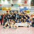 Volley serie A2 femminile, netto 3 a 0 al Sassuolo ed è salvezza per le pinerolesi