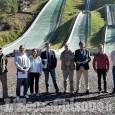 Pragelato: sopralluogo ai trampolini scuola per l'omologazione