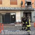 Orbassano, in fiamme la farmacia San Giuseppe
