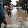 """Allerta meteo: acqua nella caserma di Candiolo per """"sgravare"""" via Orbassano"""