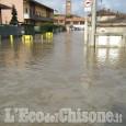 Alluvione: strade ancora chiuse a Pancalieri