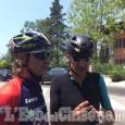 Davide Nicola pedala verso Genova
