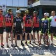 Davide Nicola, penultima tappa: pedala verso il Piemonte, accolto dalla famiglia a Genova