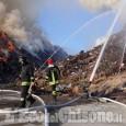 Incendio all'ex Annovati di Frossasco: per i turchi c'è un precedente