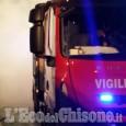 Airasca: fiamme ieri sera nella centrale a biomasse di Cascinette