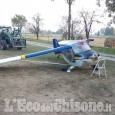 Pinerolo: incidente durante l'atterraggio al campo volo, ferito pilota 75enne