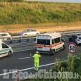 Volvera: si schianta contro il guard-rail dell'autostrada, ferito in elicottero al Cto