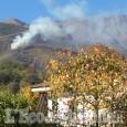 Incendio a Barge, in località Bricco Pelata: operazioni spegnimento in corso