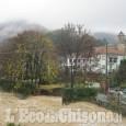Allerta maltempo: a Barge frane ed erosione argini sotto Ponte Nuovo