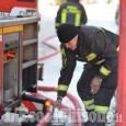 Prarostino: incendio in abitazione, Vigili del fuoco in azione