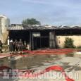Cumiana: fiamme nell'allevamento a causa di un cortocircuito al tetto fotovoltaico