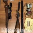 Pinerolo: armi rubate nascoste nel retro del bar, arrestato il titolare