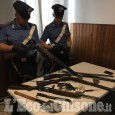 Con una pistola minaccia a Stupinigi tre persone, denunciato pensionato di Beinasco