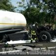 Nichelino: maxi incidente in tangenziale, coinvolti mezzi pesanti e un'auto