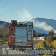 Incendi in Val Sangone numerosi focolai