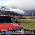 Trana/Sangano: in corso le operazioni per contrastare le fiamme