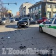 Pinerolo: incidente in pieno centro