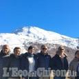 Delegazione olimpica cinese a Pragelato, Sestriere e Bardonecchia