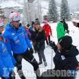 """A Prali """"Insieme si può volare"""": sci nordico e alpino incontrano la disabilità"""