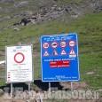 Sp.173 del Colle dell'Assietta chiusa al traffico in località Clot Fauredal 12 al 24 ottobre