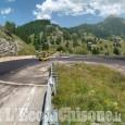 Asfalti e barriere: lavori in corso sulla Sp 23 in vista della Cesana-Sestriere